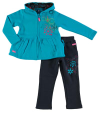 """What´s up Kids 2tlg. Outfit """"Fly Away"""" in Türkis/ Dunkelblau"""