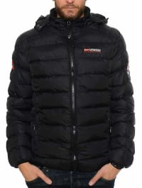 "Geographical Norway Winterjacke ""Beckam"" in Schwarz"