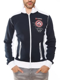 "Geographical Norway Sweatjacke ""Guever"" in Dunkelblau"