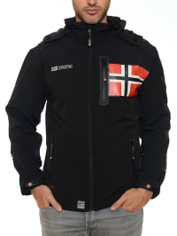 "Geographical Norway Softshelljacke ""Rowenta"" in Schwarz"