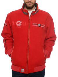 "Geographical Norway Fleecejacke ""Upstart"" in Rot"