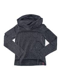 ZieZoo Pullover in Anthrazit/ Silber