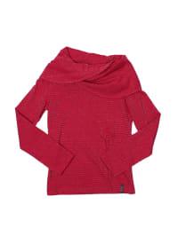 ZieZoo Pullover in Fuchsia/ Silber