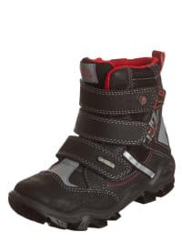 """Primigi Boots """"Santori"""" in Schwarz/ Rot"""