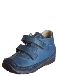 "Naturino Leder-Sneakers ""Achak"" in Blau"