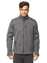 "Maier Sports Softshelljacke ""Peer"" in Dunkelgrau"