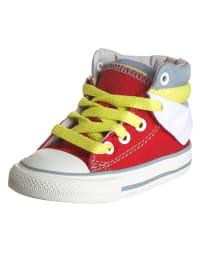 """Converse Sneakers """"CT Peel Back MID"""" in Rot/ Grau"""