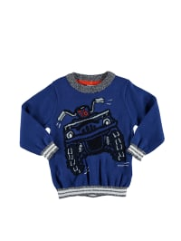 "Name it Pullover ""Egonson"" in Blau/ Schwarz"