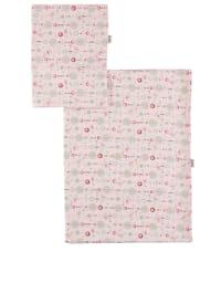 Tavo Bettwäsche-Set in Rosa - (B)100 x (L)135 cm
