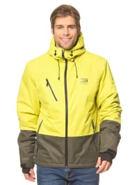 Jack & Jones Ski- /Snowboardjacke in Gelb/ Oliv