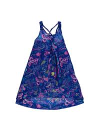 Lilou Secret Kleid in Dunkelblau/ Bunt
