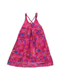 Lilou Secret Kleid in Pink/ Bunt
