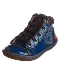 Art Kids Leder-Sneakers in Blau