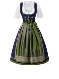"HOLY COUTURE by Stockerpoint Midi-Dirndl ""Noemi"" in Dunkelblau/ Grün"