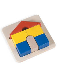 "BLUE RIBBON 6tlg. Puzzle ""Haus"" - ab 12 Monaten"