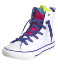 "Converse Sneakers ""CT Party HI"" in Weiß/ Lila"