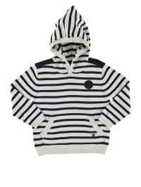 Marc O'Polo Junior Pullover  in Dunkelblau/ Offwhite