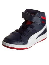 Puma Sneakers in Dunkelblau/ Rot/ Weiß
