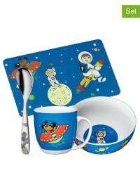 """WMF 4tlg. Frühstücksset """"Space"""" in Blau - ab 3 Jahren"""