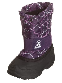 "Kamik Winterstiefel ""Tickle"" in Schwarz/ Lila"