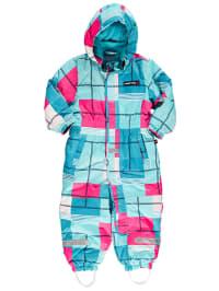 "Legowear Schneeanzug ""Jack"" in Hellblau/ Türkis/ Pink"