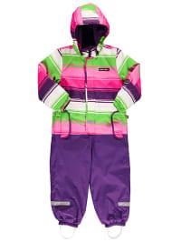 "Legowear Schneeanzug ""Jussi"" in Lila/ Pink/ Grün"