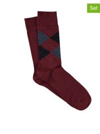 """Marc O'Polo 2er-Set: Socken """"Midland"""" in Rot"""