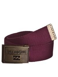 """Billabong Gürtel """"Sergeant"""" in Bordeaux"""