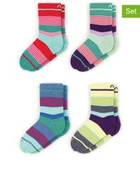 "MINGA BERLIN 4er-Set: Socken ""Layer Cake"" in Bunt"