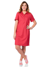 Sheego Kleid in Rot