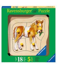"Ravensburger 5tlg. Puzzle ""Liebes Pony"" - ab 18 Monaten"