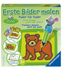"""Ravensburger Punkt-für-Punkt-Malset """"Erste Bilder - Zoo"""" - ab 3 Jahren"""