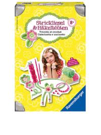 """Ravensburger Kreativ-Set """"Strickliesel und Häkelblüten"""" - 8 Jahren"""
