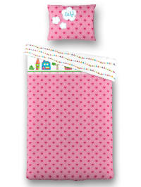 Lief Kissenbezug in Pink/ Bunt