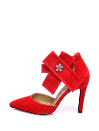 Just Bow Pumps in Rot - 62% Svccym0goa