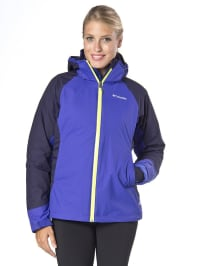 Columbia 2-in-1 Outdoorjacke in lila/ pflaume