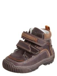 Primigi Leder-Boots in Dunkelbraun