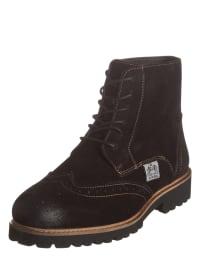 Otto Kern Leder-Boots in Dunkelbraun - 61% 1eVs1hsGu