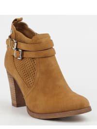 Moow Stiefeletten in Taupe - 58% rX3WeMHF