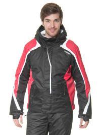 Hyra Ski-/ Snowboardjacke in Schwarz/ Rot