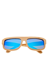 Earth wood Unisex-Sonnenbrille Clearwater in Naturholz - 73% SIHSUilx