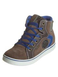 Primigi Leder-Sneakers in Dunkelblau - 54% K67aLfV