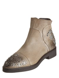 CAFèNOIR Leder-Boots in Schwarz - 56% MsSRIvEbM
