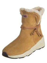 Napapijri Leder-Boots Doris in Dunkelgrau - 61% A0VsBw94