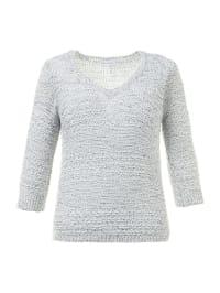 75% *. Gina Laura. Pullover in Grau