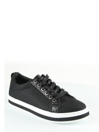 Sixth Sens Sneakers in Schwarz - 60%