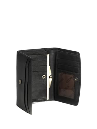 d339cf61f2d25 Skórzany portfel w kolorze czarnym - (S)10 x (W)14 cm - Wittchen ...