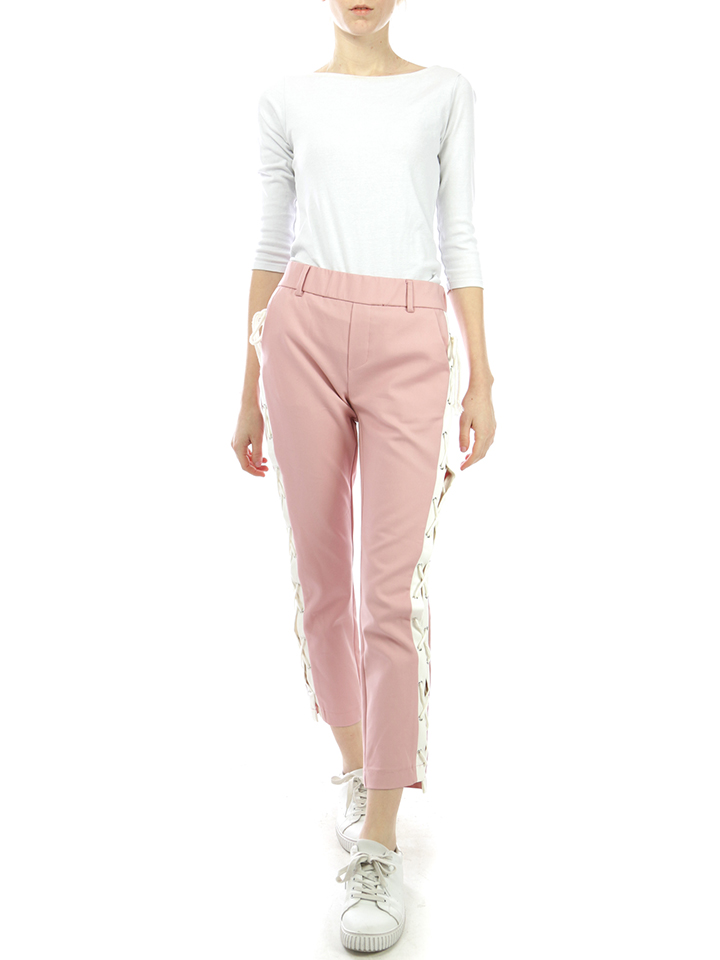 Ella Paris Hose in Rosa/ Weiß günstig kaufen