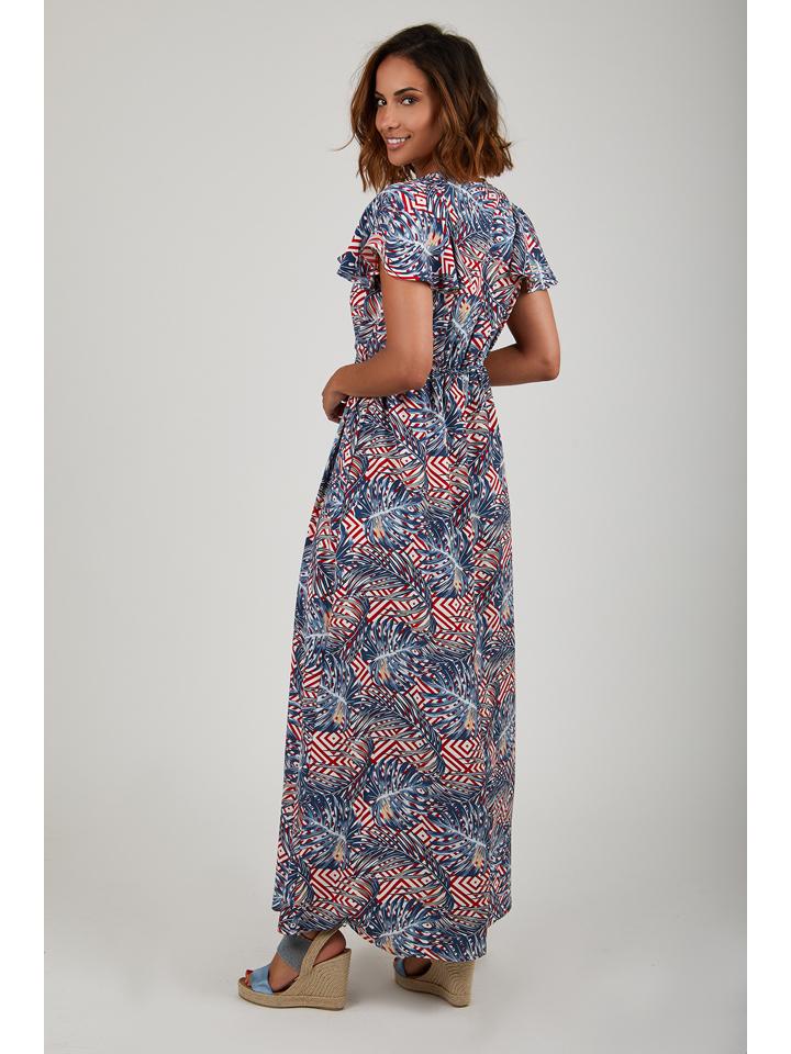 Summer Dresses Kleid in Blau/ Rot günstig kaufen