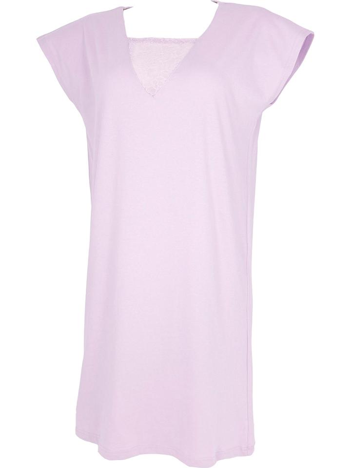 COTONELLA Nachthemd in Rosa günstig kaufen
